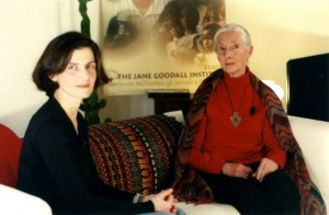 Margherita d'Amico e Jane Goodall - copyright Barbara Ledda