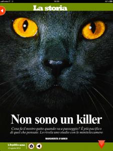 Non sono un killer - di Margherita d'Amico - Repubblica sera