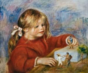 Pierre-Auguste Renoir, Claude Renoir che gioca