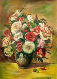 Pierre Auguste Renoir - vaso di fiori