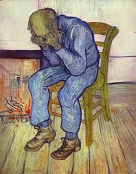 Vecchio disperato - Vincent Van Gogh 1890